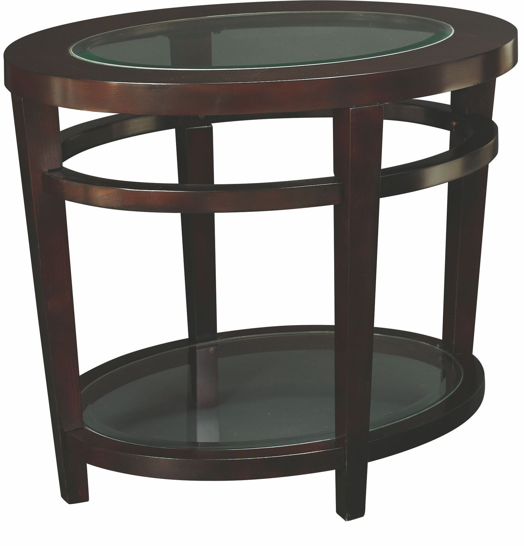 Urbana oval occasional table set from hammary t20810 for Table urbana but