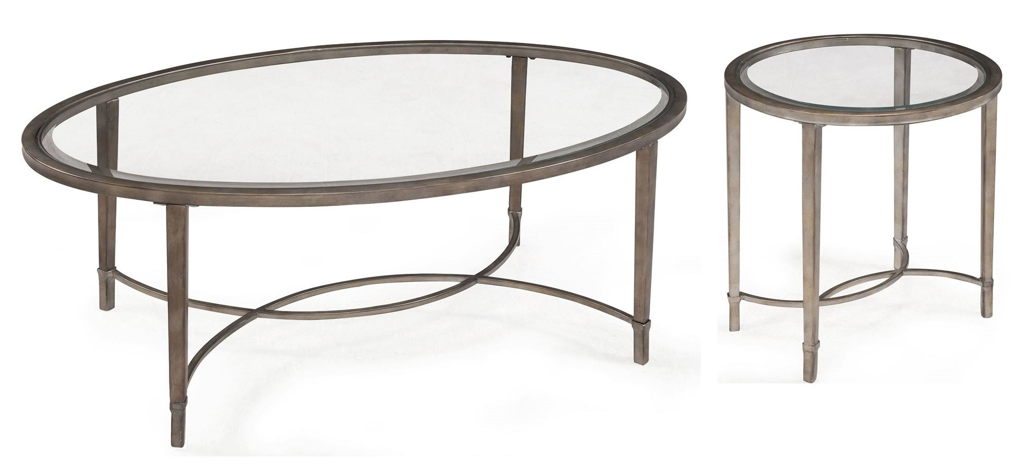 Copia oval cocktail table from magnussen home t2114 47 for Cocktail table 47