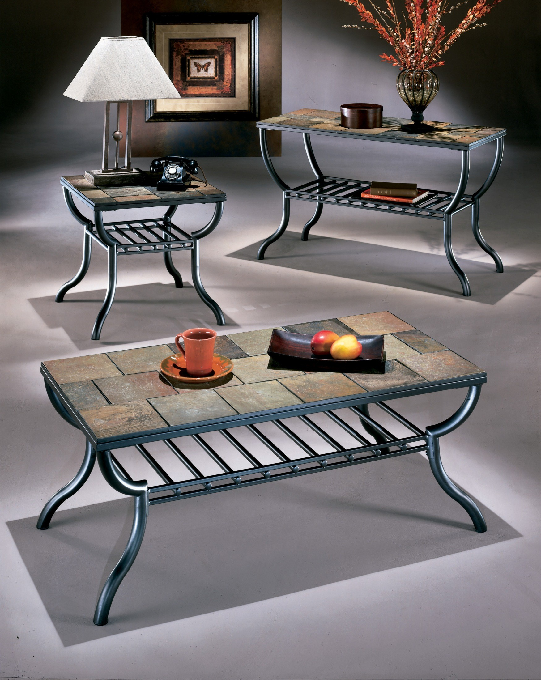 Antigo Accent Table Set From Ashley T233 Coleman Furniture