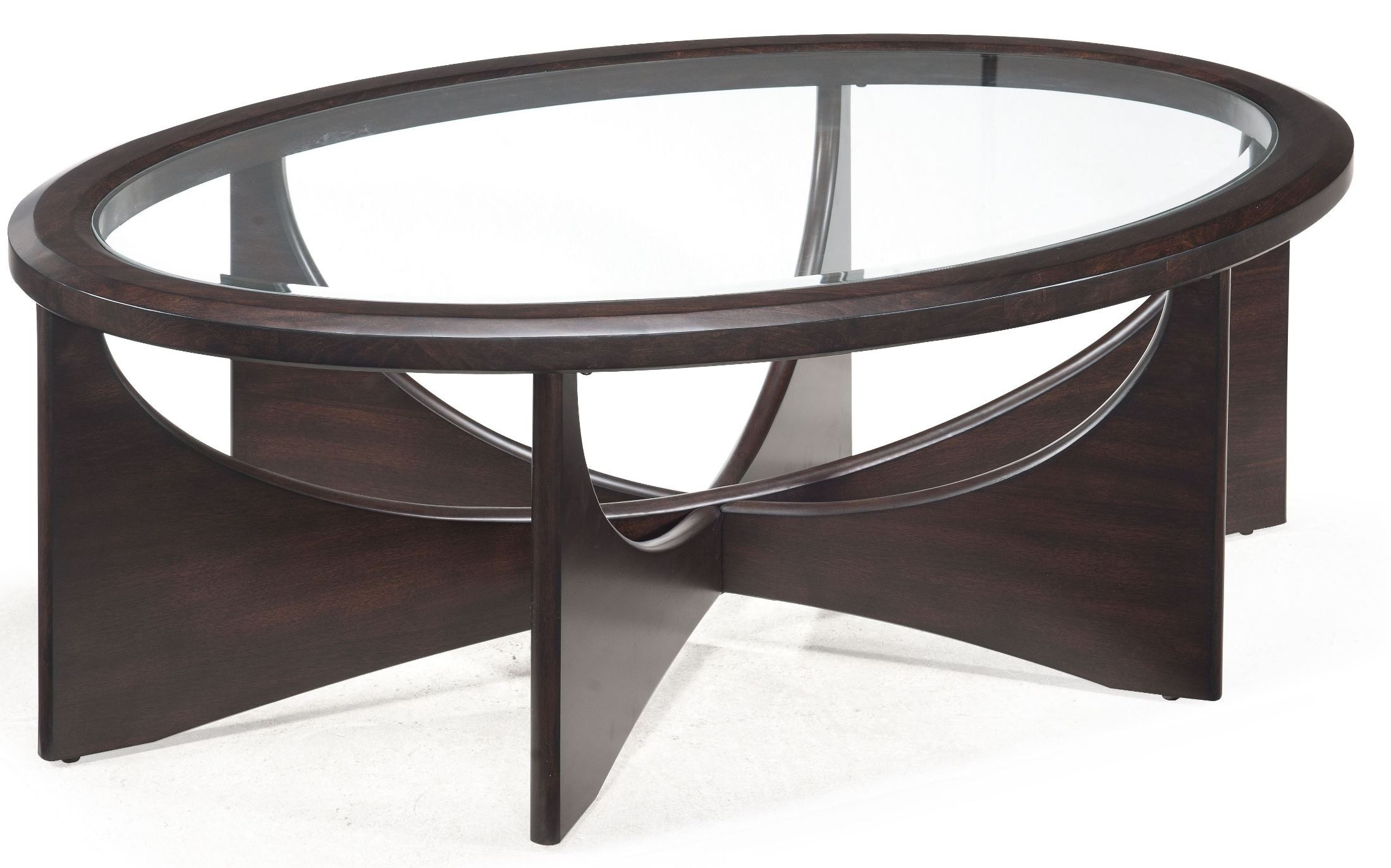 Okani oval cocktail table t2361 47 magnussen for Cocktail table 47