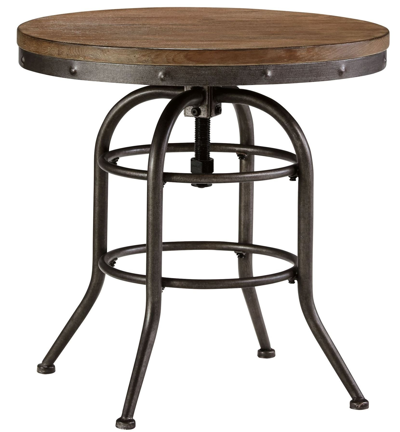 Vennilux end table from ashley t500 726 coleman furniture for Furniture end tables