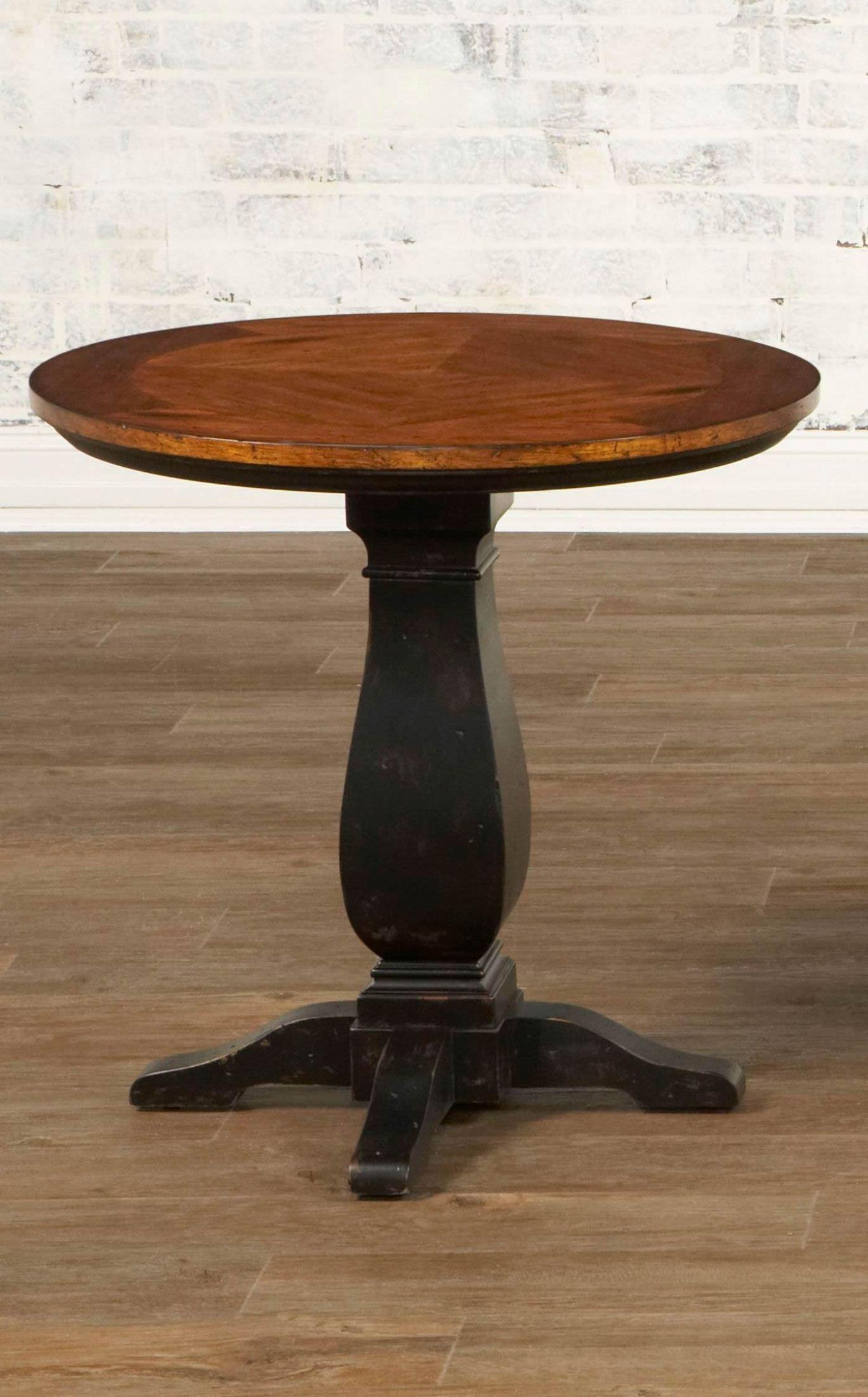 newbury round pedestal end table from largo t557 124 coleman furniture. Black Bedroom Furniture Sets. Home Design Ideas
