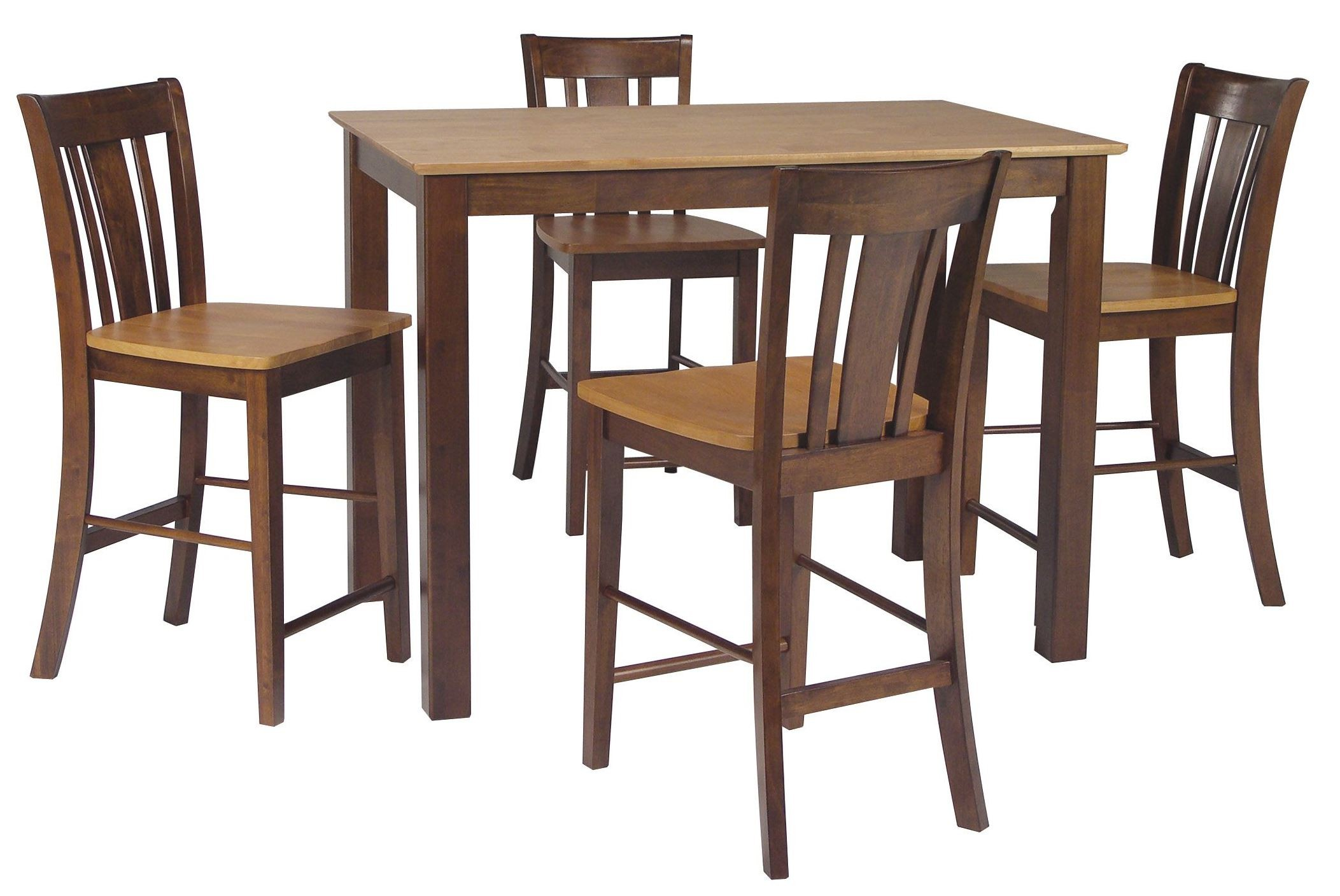 Dining essentials cinnamon espresso 48 rectangular for Dining room essentials