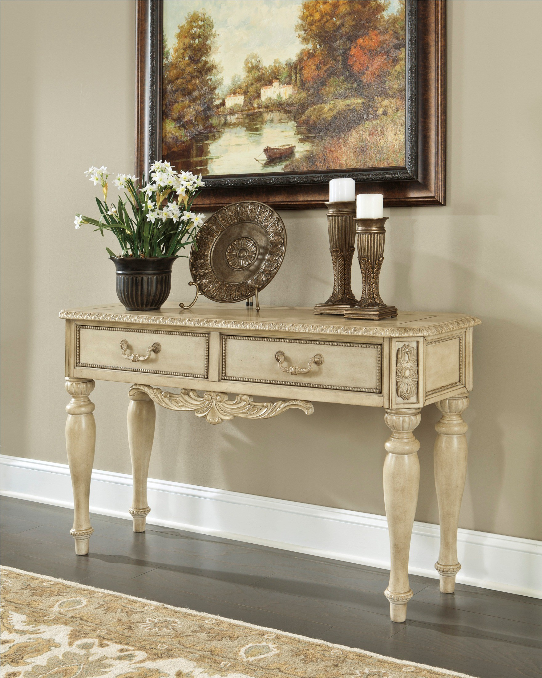 ortanique sofa console table from ashley t707 4