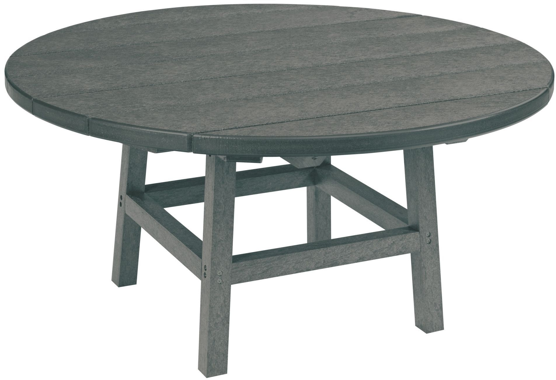 Generations Slate Grey 37 Round Cocktail Table Tt02 Tb01 16 Cr Plastic