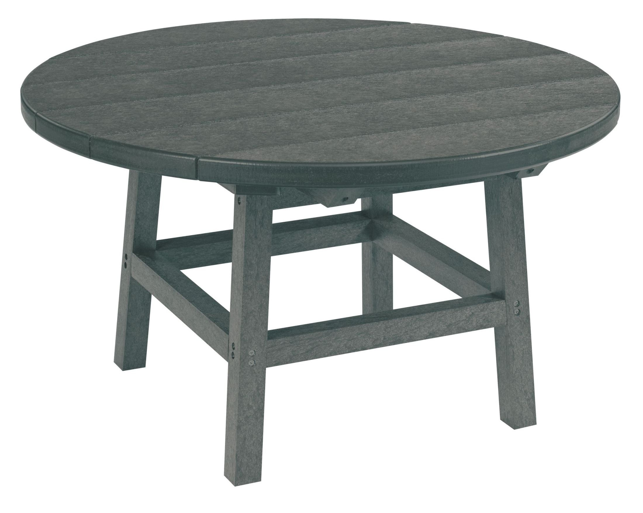 Generations Slate Gray 32 Round Leg Cocktail Table From Cr Plastic Tbt01 18 Coleman Furniture
