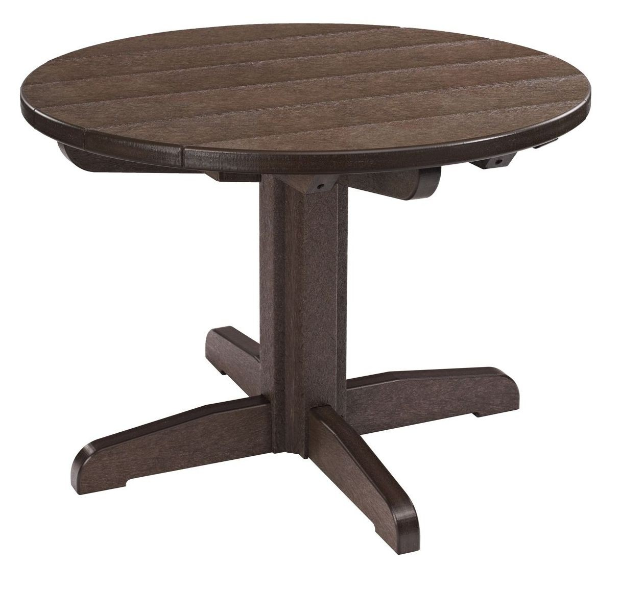 Generations Chocolate 32 Round Pedestal Cocktail Table Tbt04 16