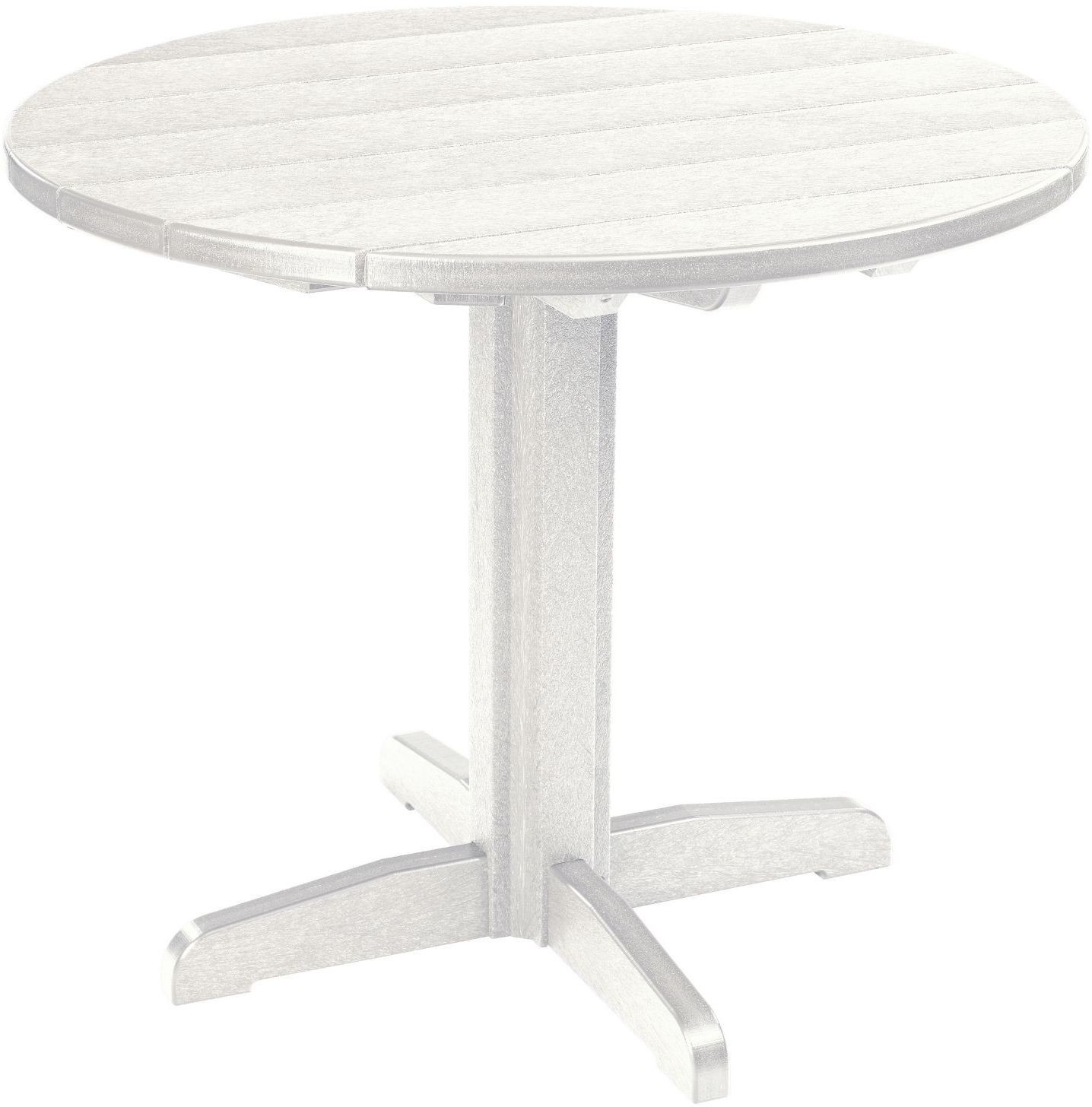 generations white 37 round pedestal dining table tt02 tb12 02 cr