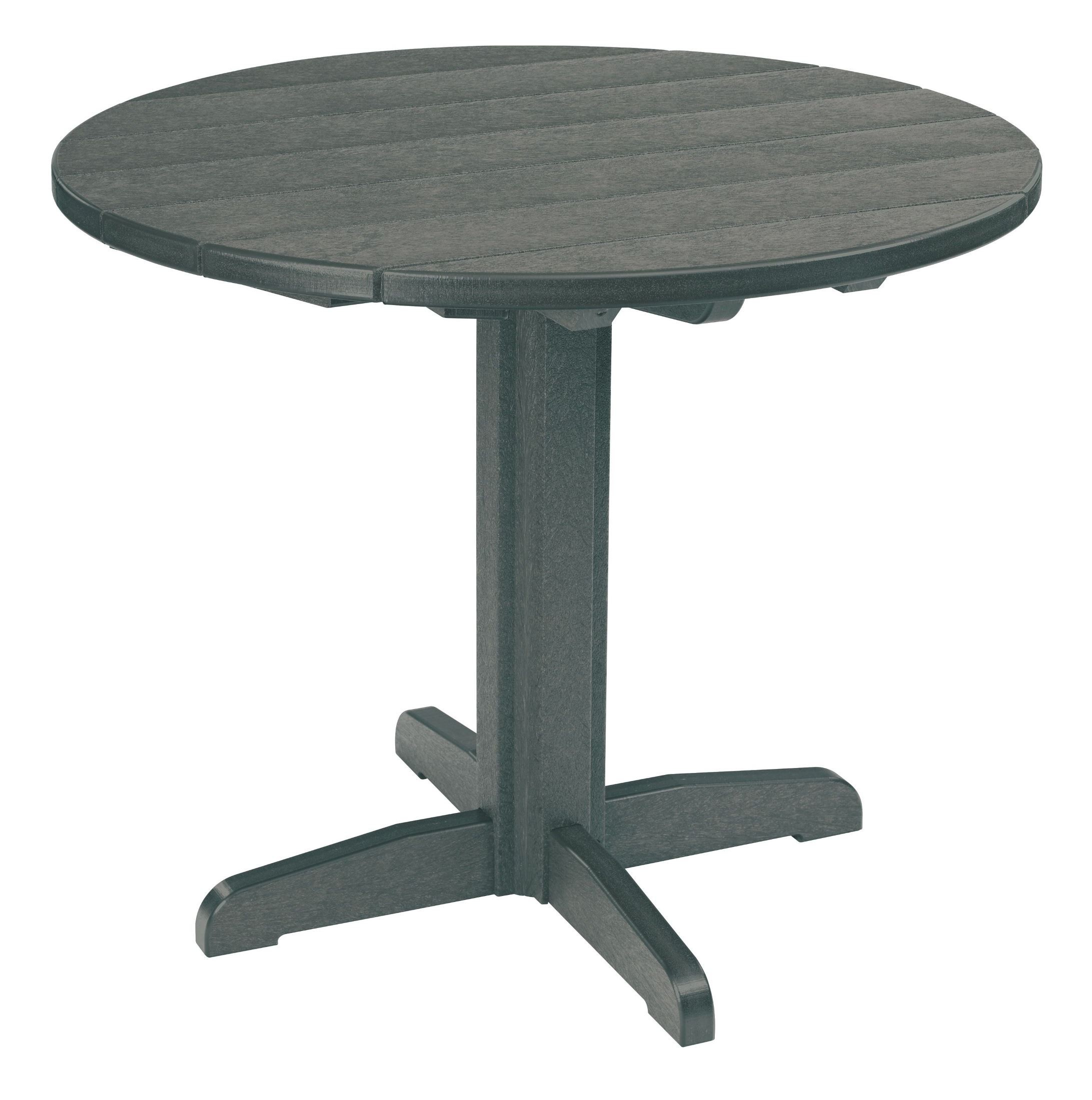 Generations Slate Grey 37quot Round Pedestal Dining Table  : tbt2218tt02tb1218 from colemanfurniture.com size 2183 x 2200 jpeg 395kB