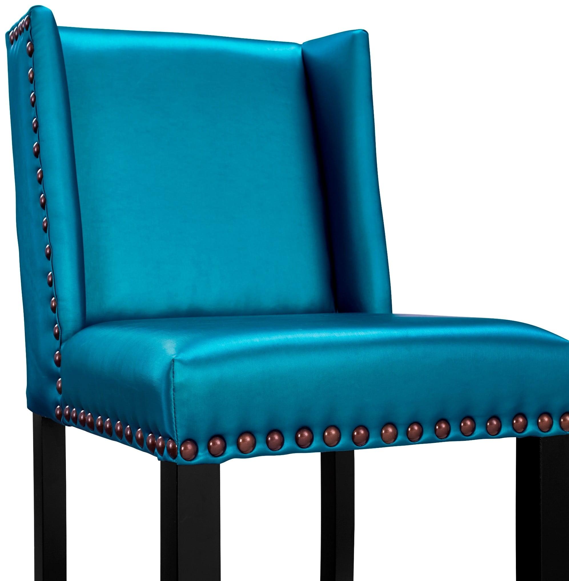 Denver blue counter stool from tov bs12 coleman furniture - Barstools denver ...