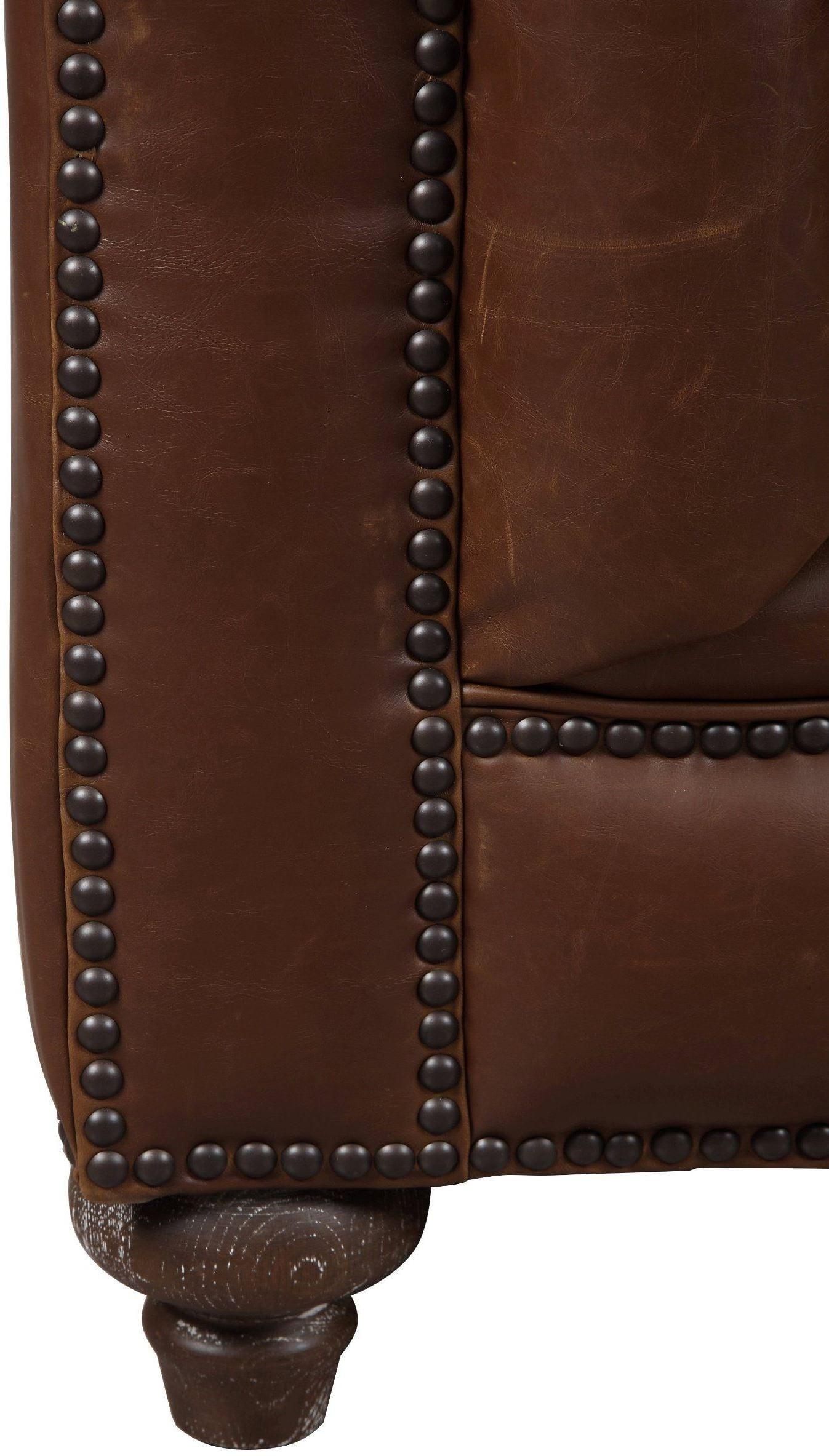 Durango Antique Brown Leather Club Chair C40 02 TOV