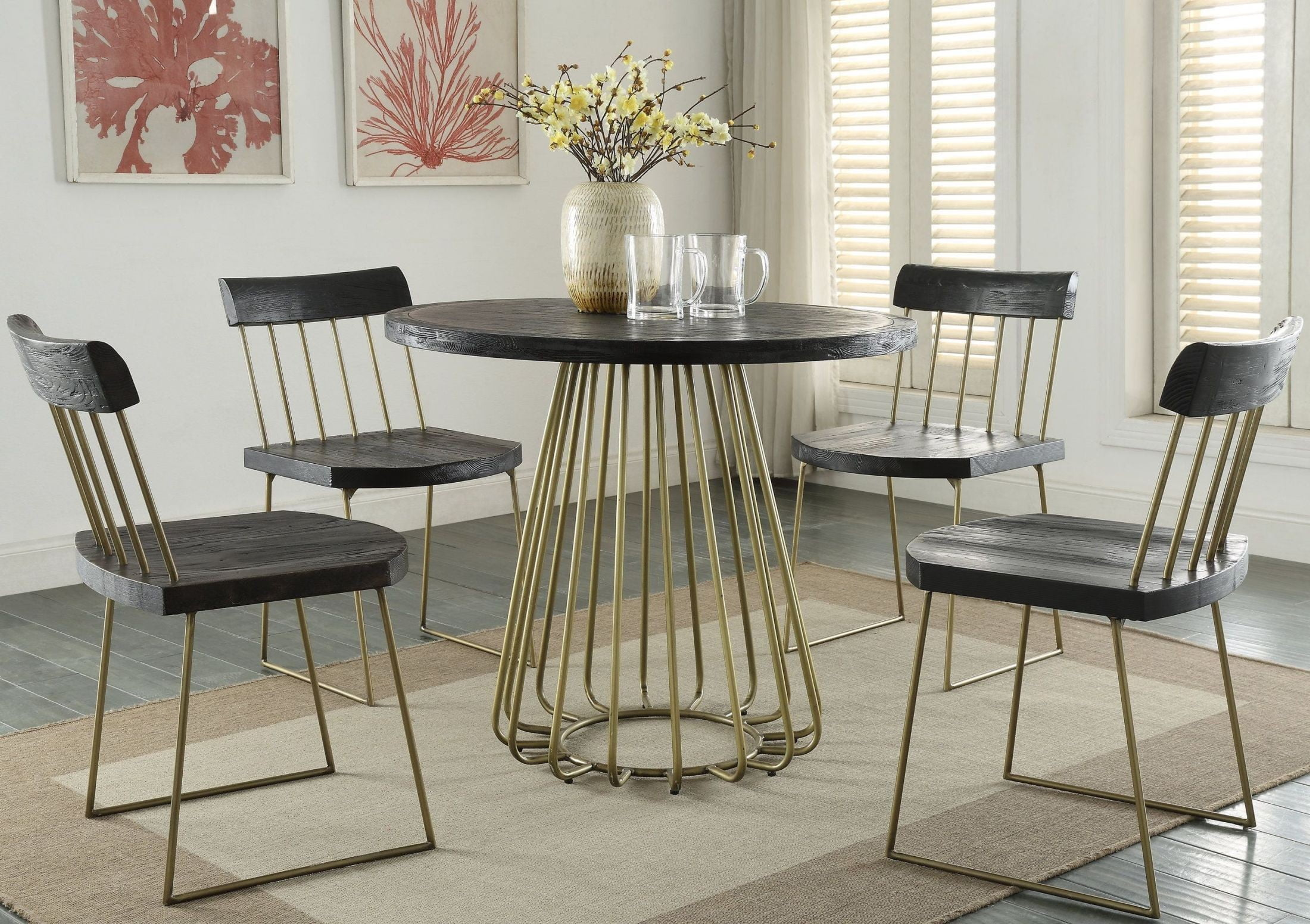 madrid pine round dining room set g5480 tov furniture 8 seater oregon pine dining room set pretoria north