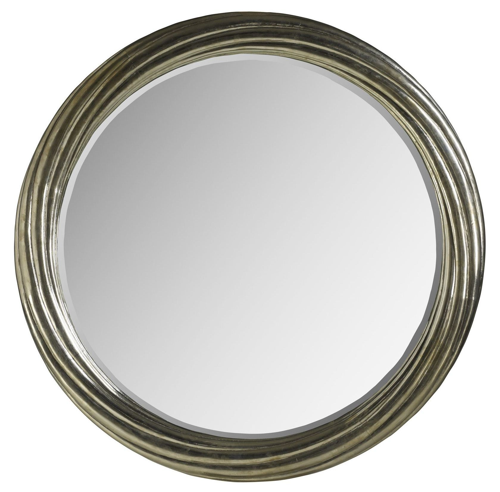 Treviso large round mirror from brownstone tr019 for Big circle mirror