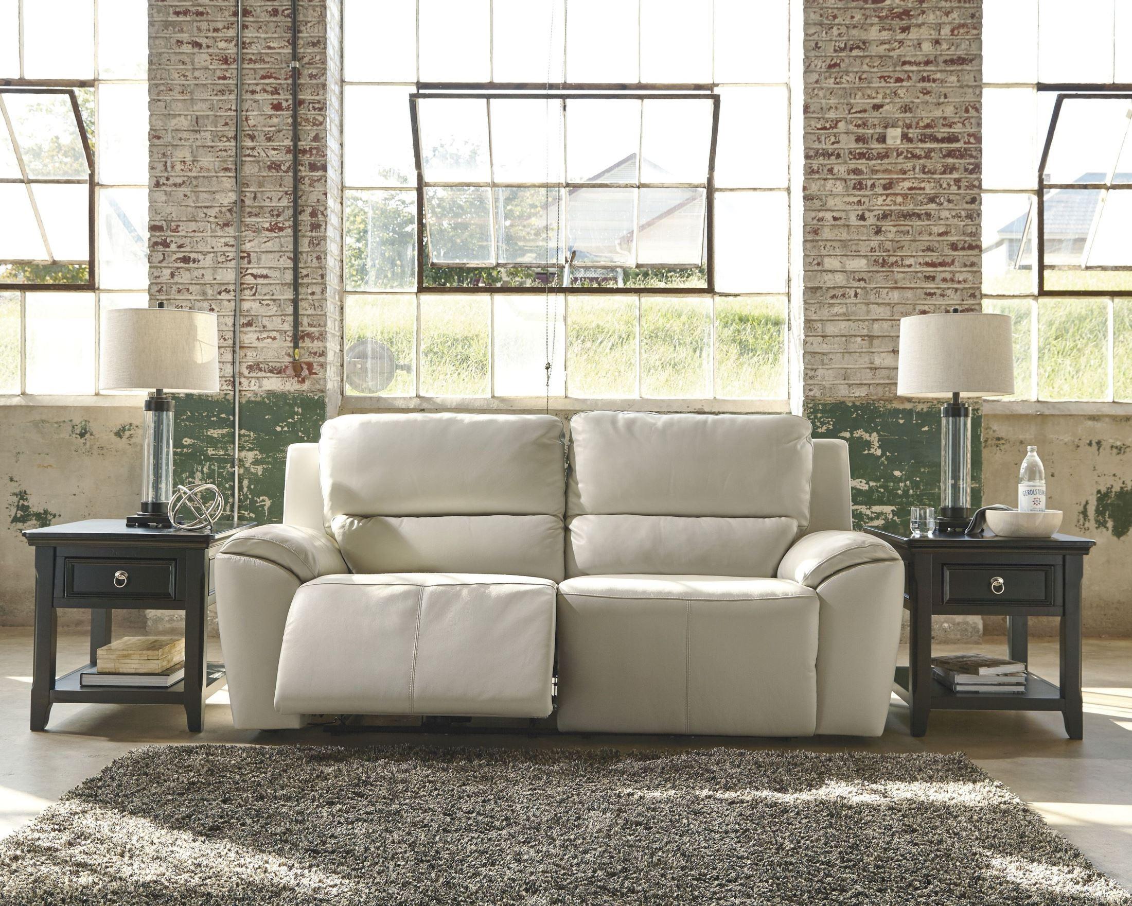 Valeton Cream 2 Seat Reclining Sofa From Ashley U7350081