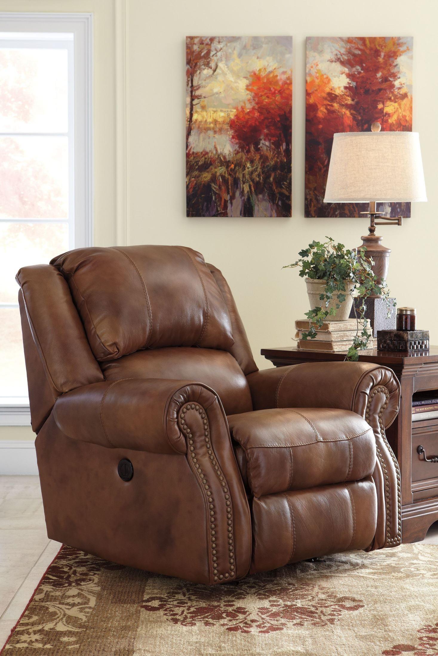 Walworth Auburn Rocker Recliner From Ashley U7800125 Coleman Furniture