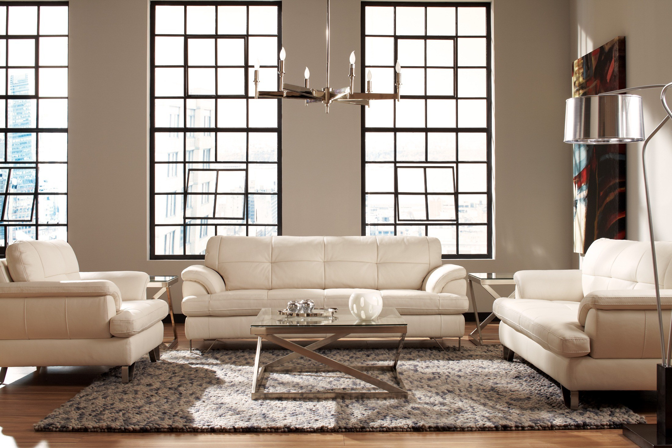 Gunter brilliant white living room set u81300 38 35 signature design