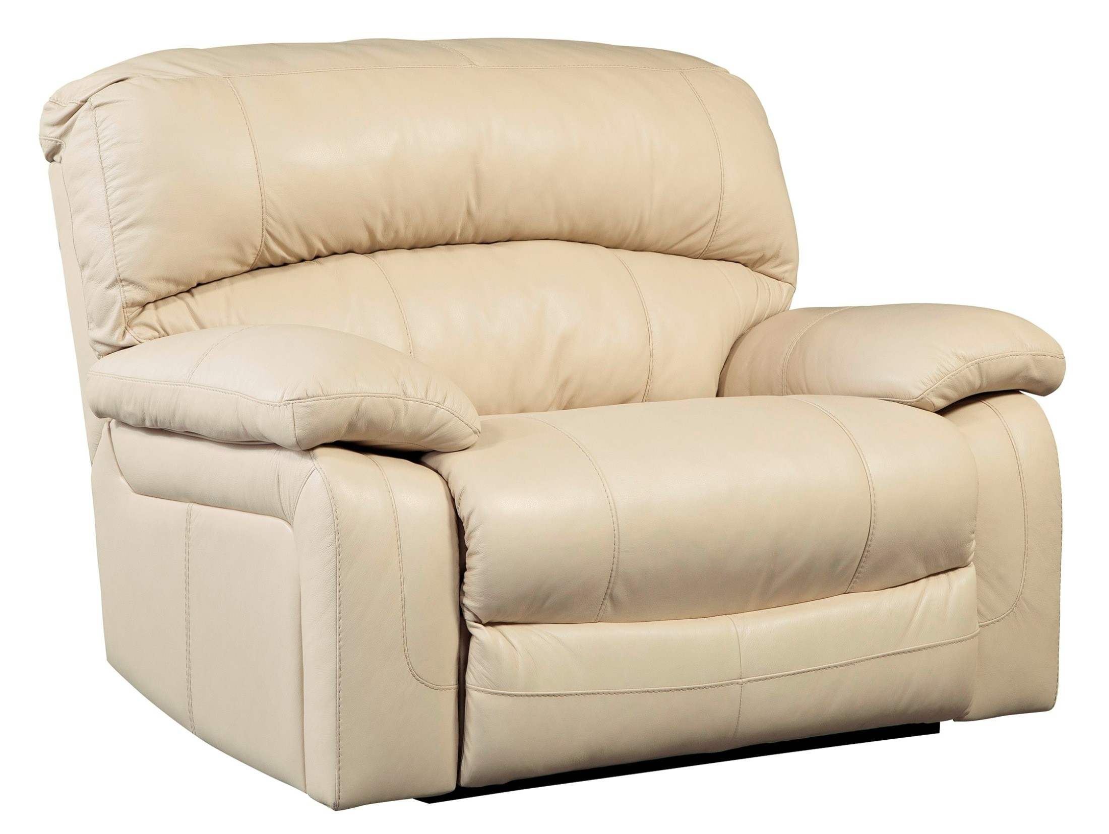 Damacio Cream Zero Wall Power Wide Recliner From Ashley
