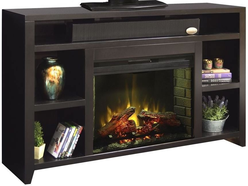 Urban loft 62 black fireplace console ul5101 moc Loft fireplace