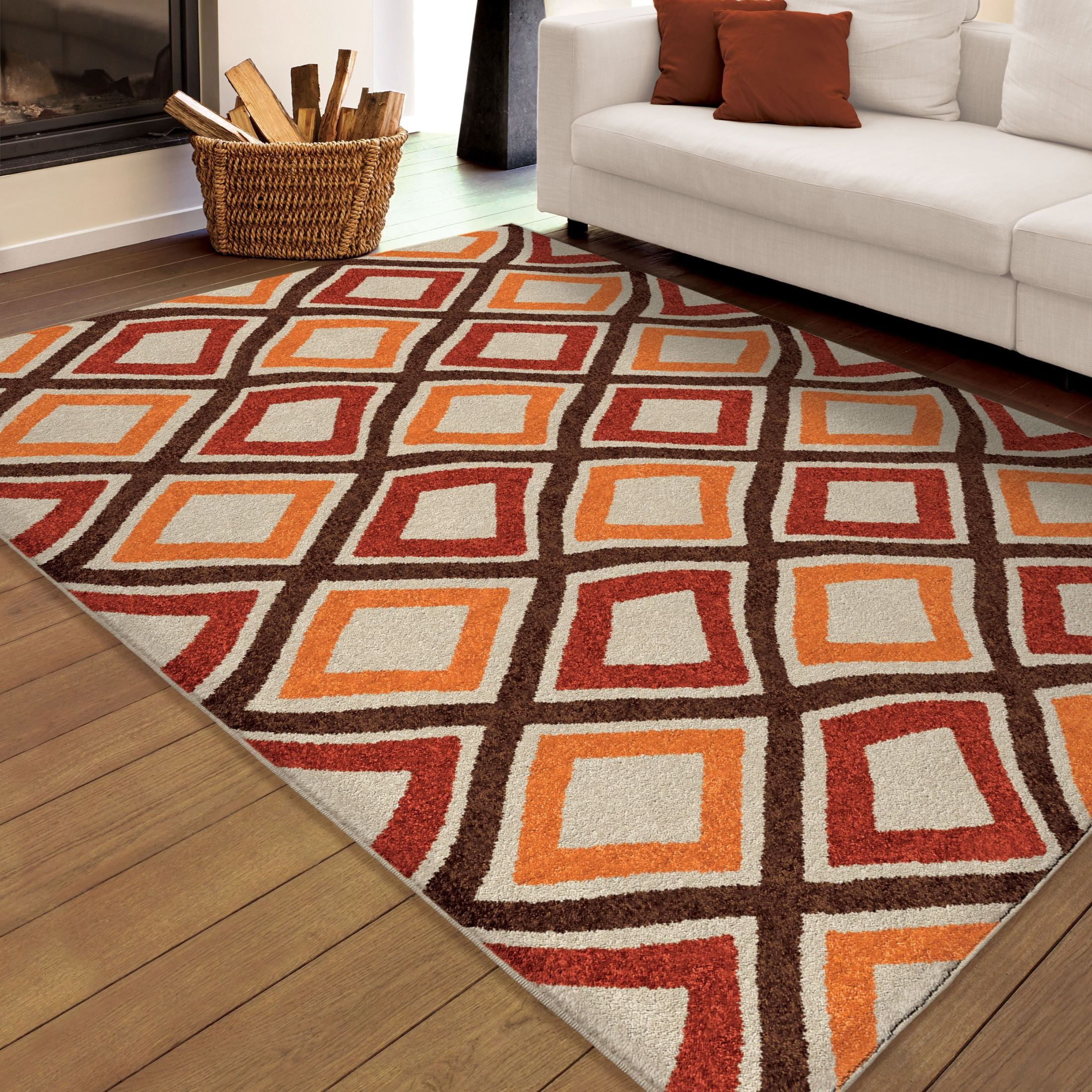 Orian Rugs Indoor Outdoor Squares Broad Street Multi Area