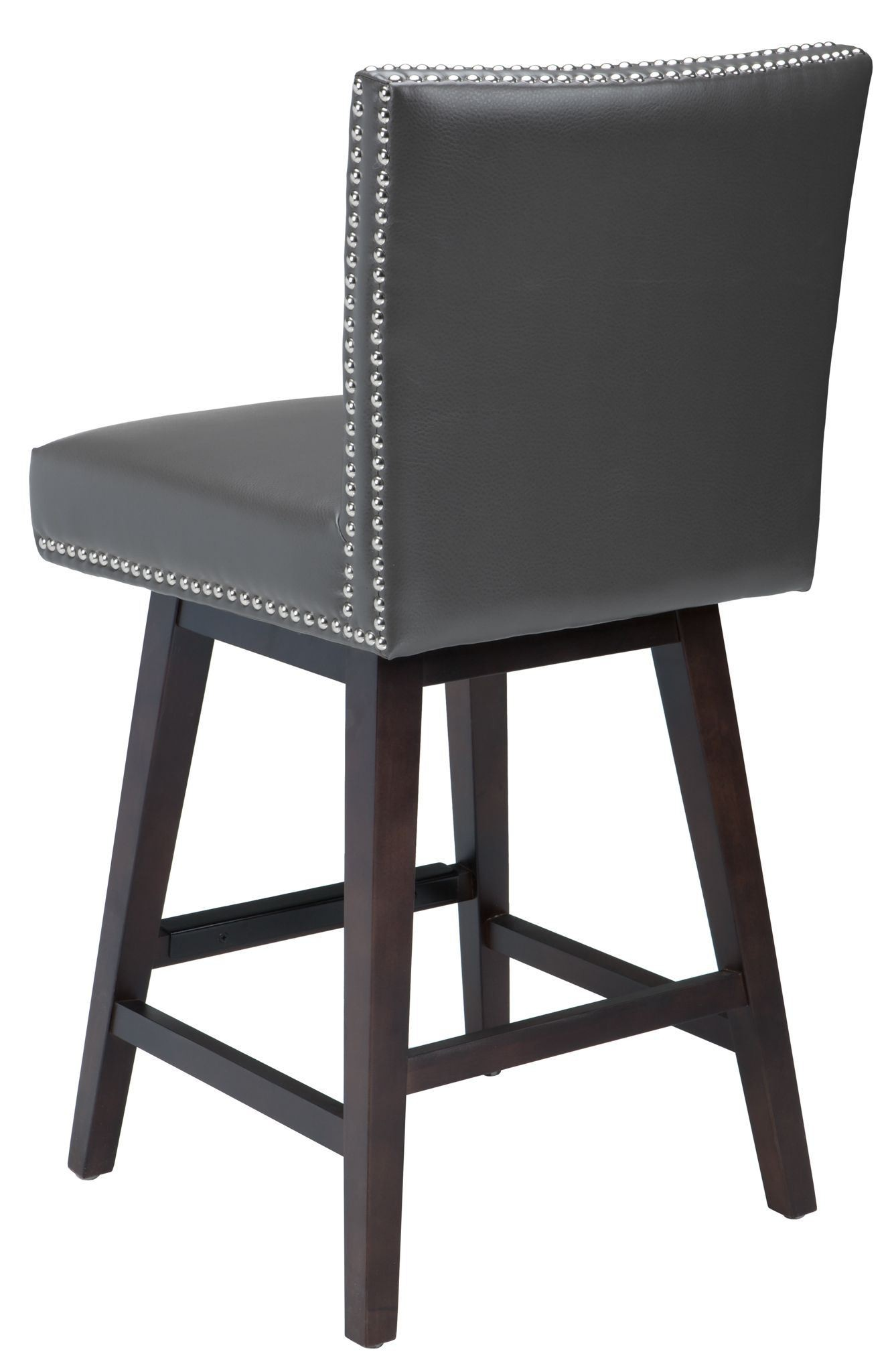 Vintage Grey Swivel Counter Stool From Sunpan 78608