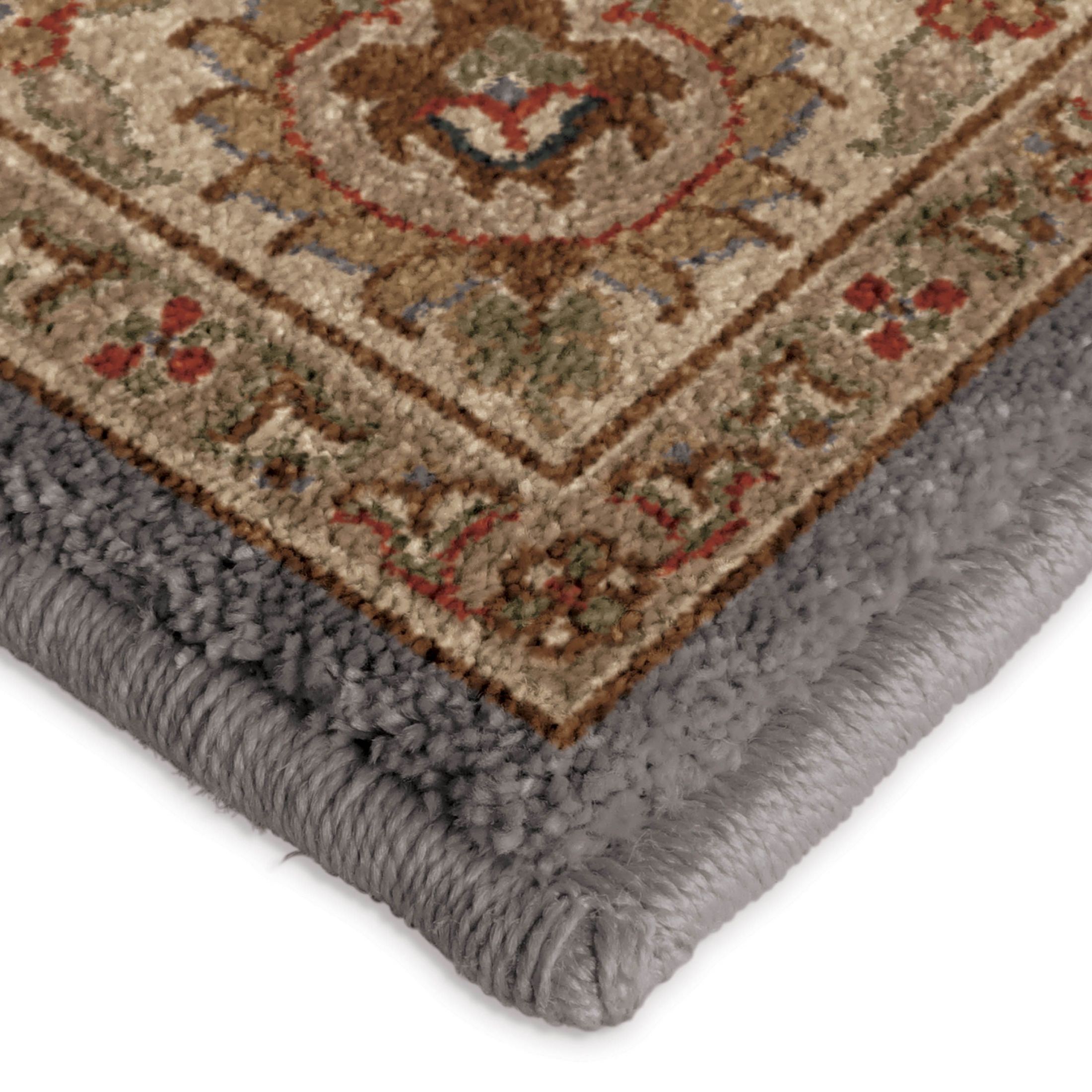 Orian rugs insanely soft oriental julie anne gray area for Soft area rugs