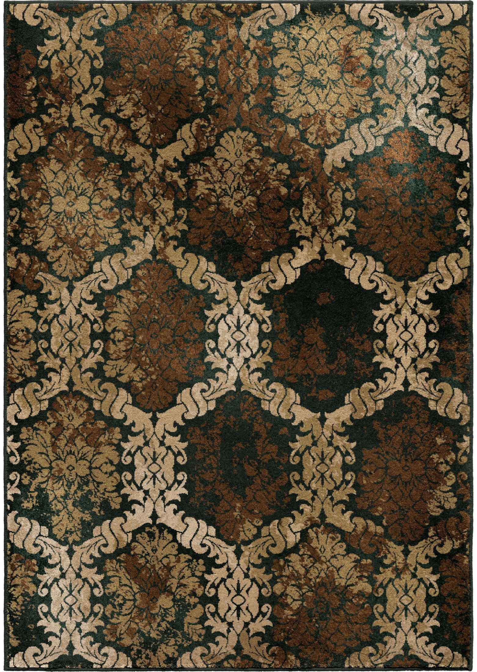 orian rugs insanely soft medallion scrolls oxfordburst. Black Bedroom Furniture Sets. Home Design Ideas
