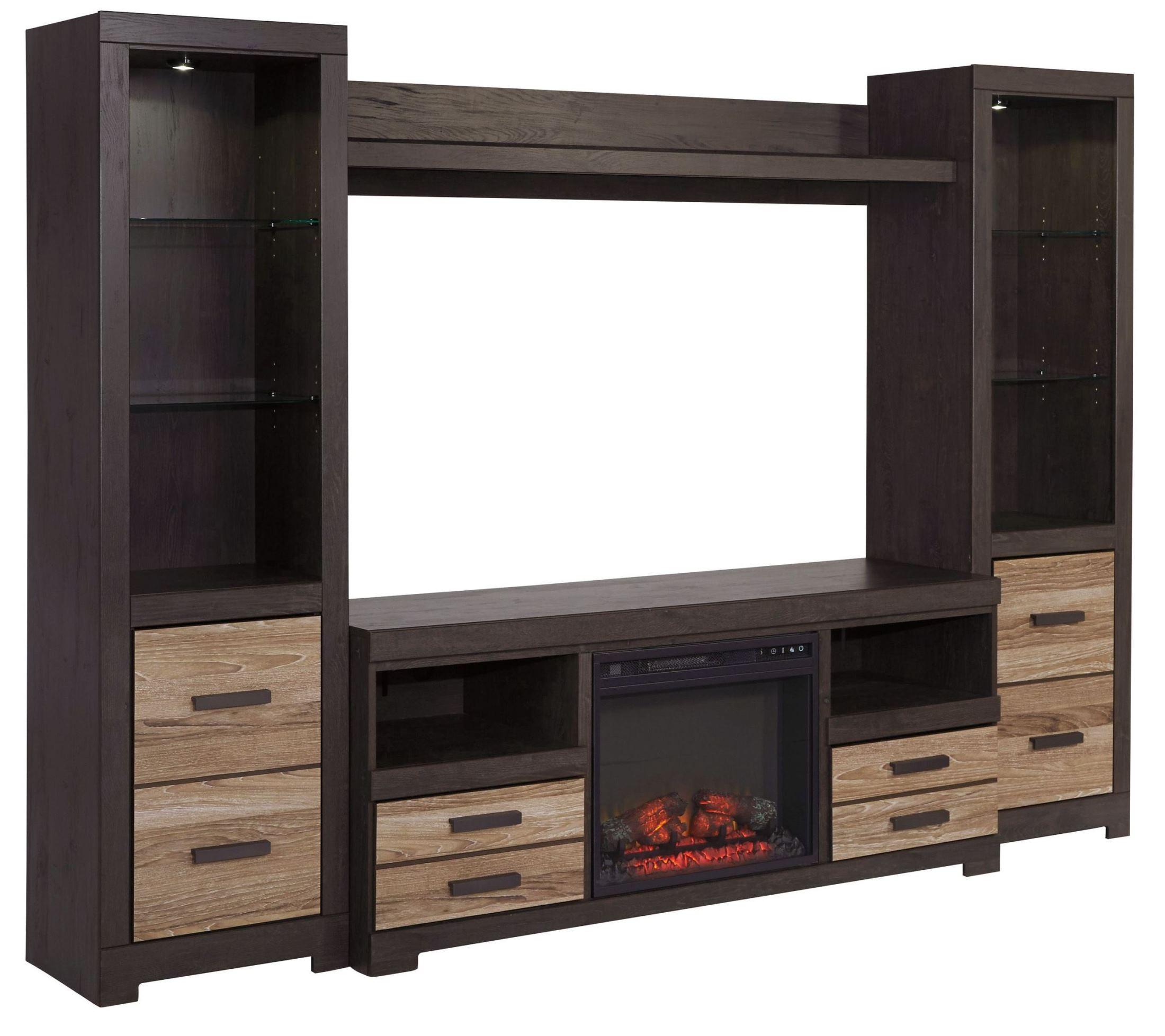 Harlinton Entertainment Wall Unit W325 68 24 2 27 Ashley Furniture