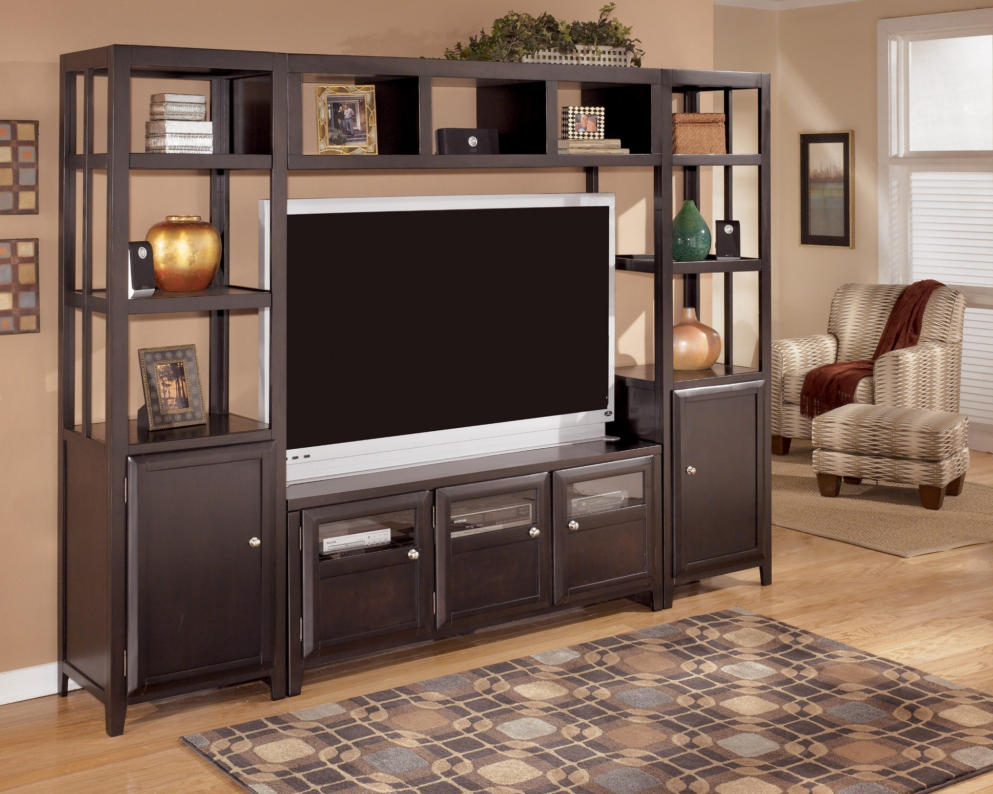 Naomi Entertainment Wall Unit From Ashley W461 21 26 23 24 Coleman Furniture