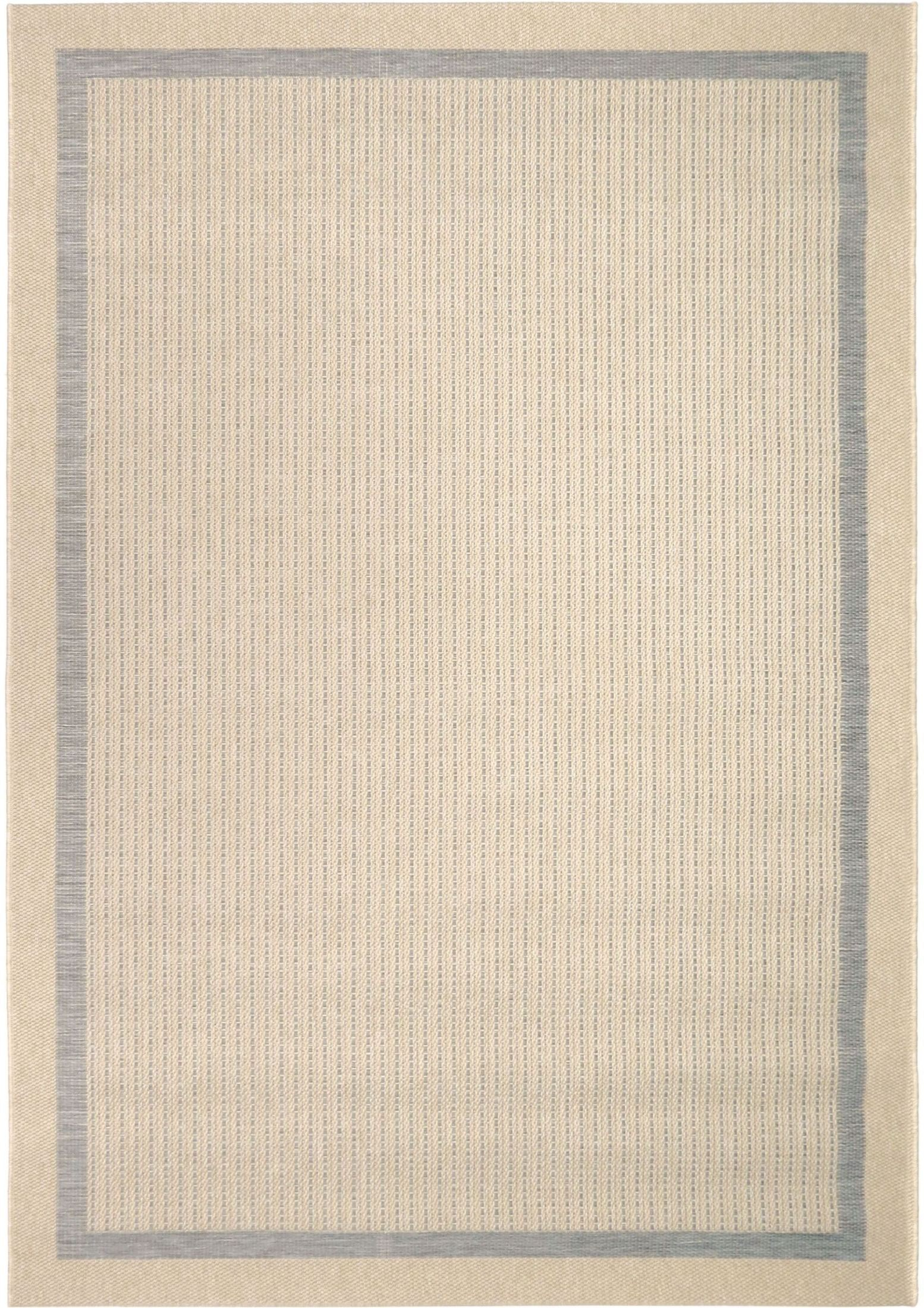 Orian Rugs Indoor Outdoor Border Aviva Gray Area Small