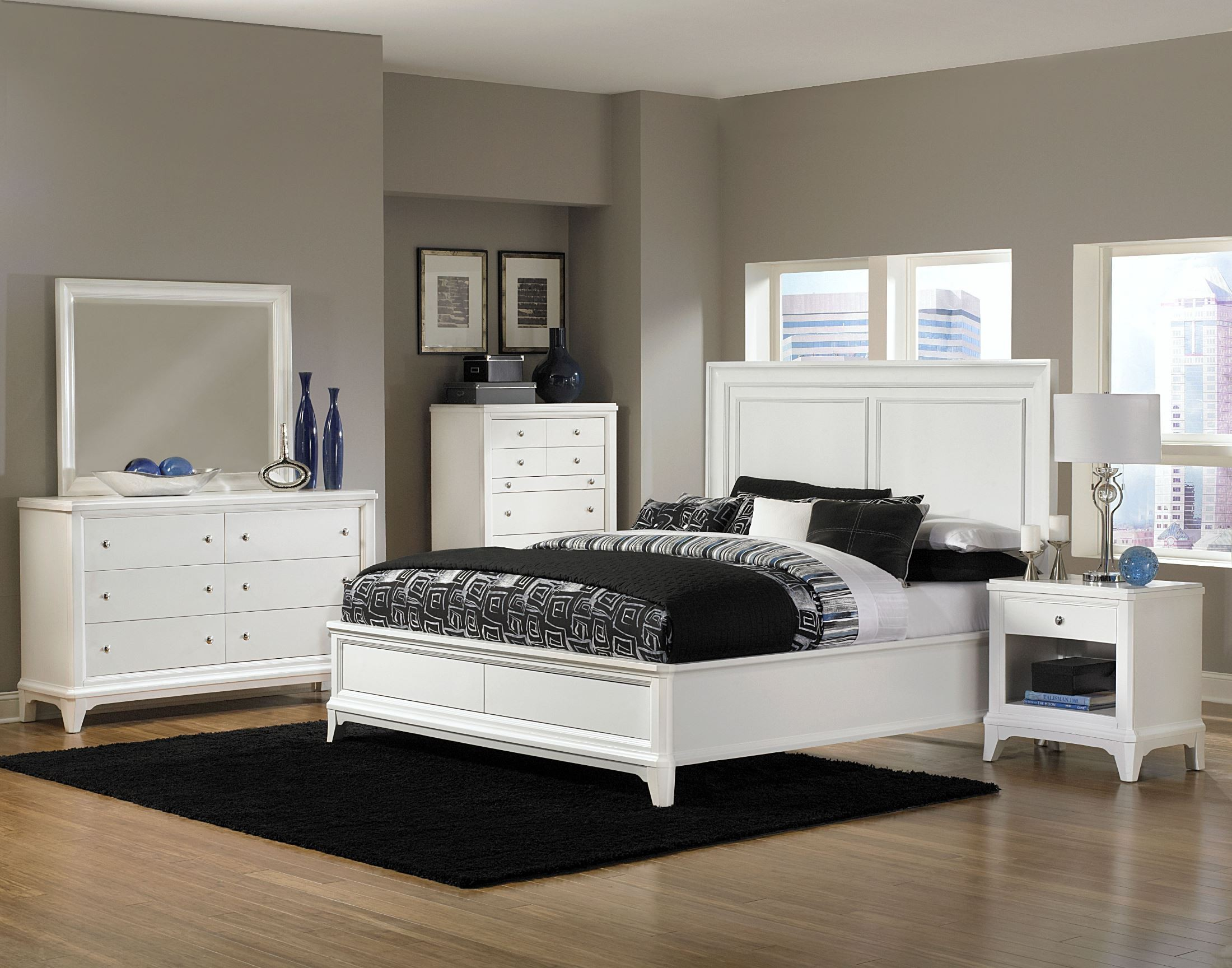 whitley island bedroom set from magnussen home b2372 51h 50f 50r