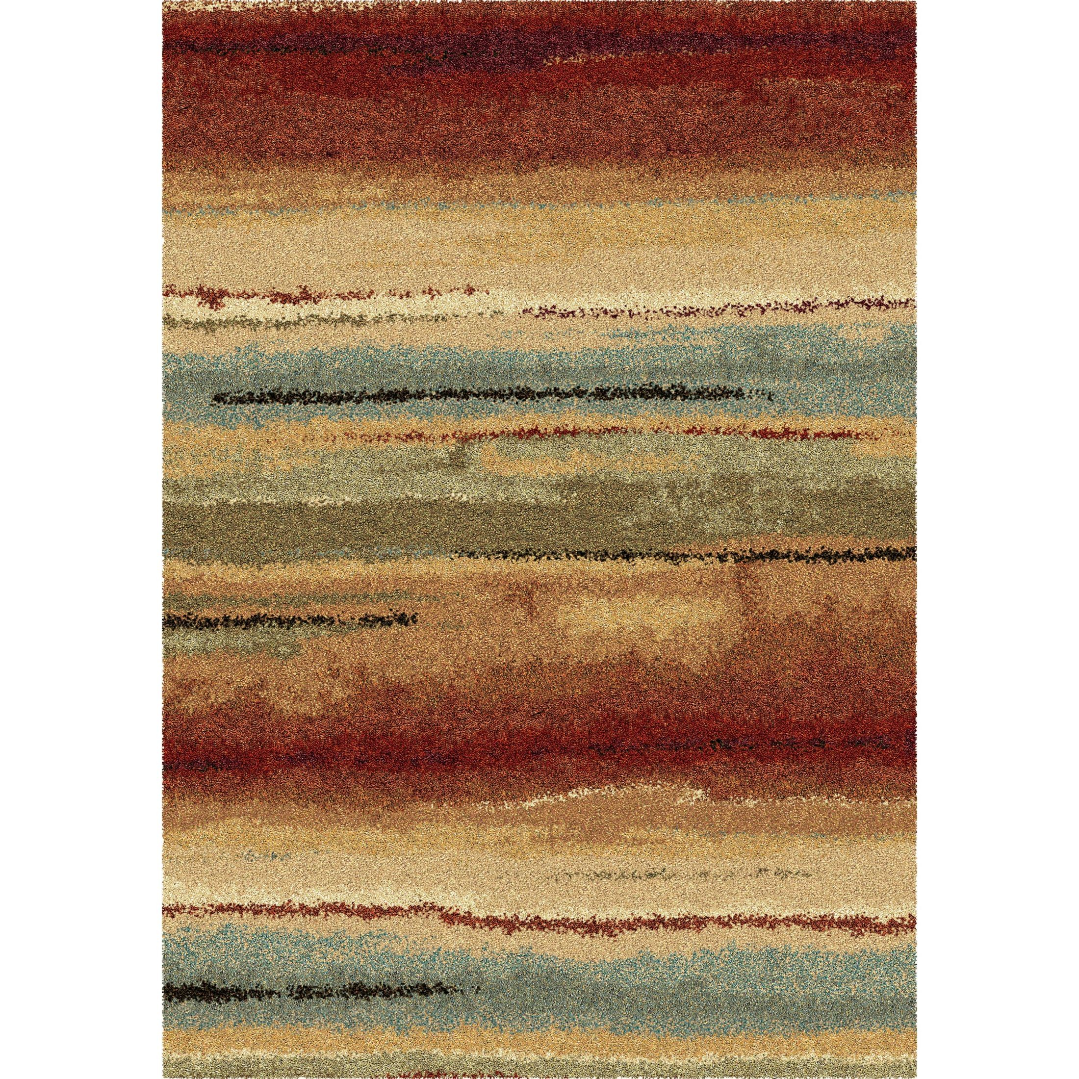 Dusk To Dawn Multi Large Rug From Orian (1631 9x13