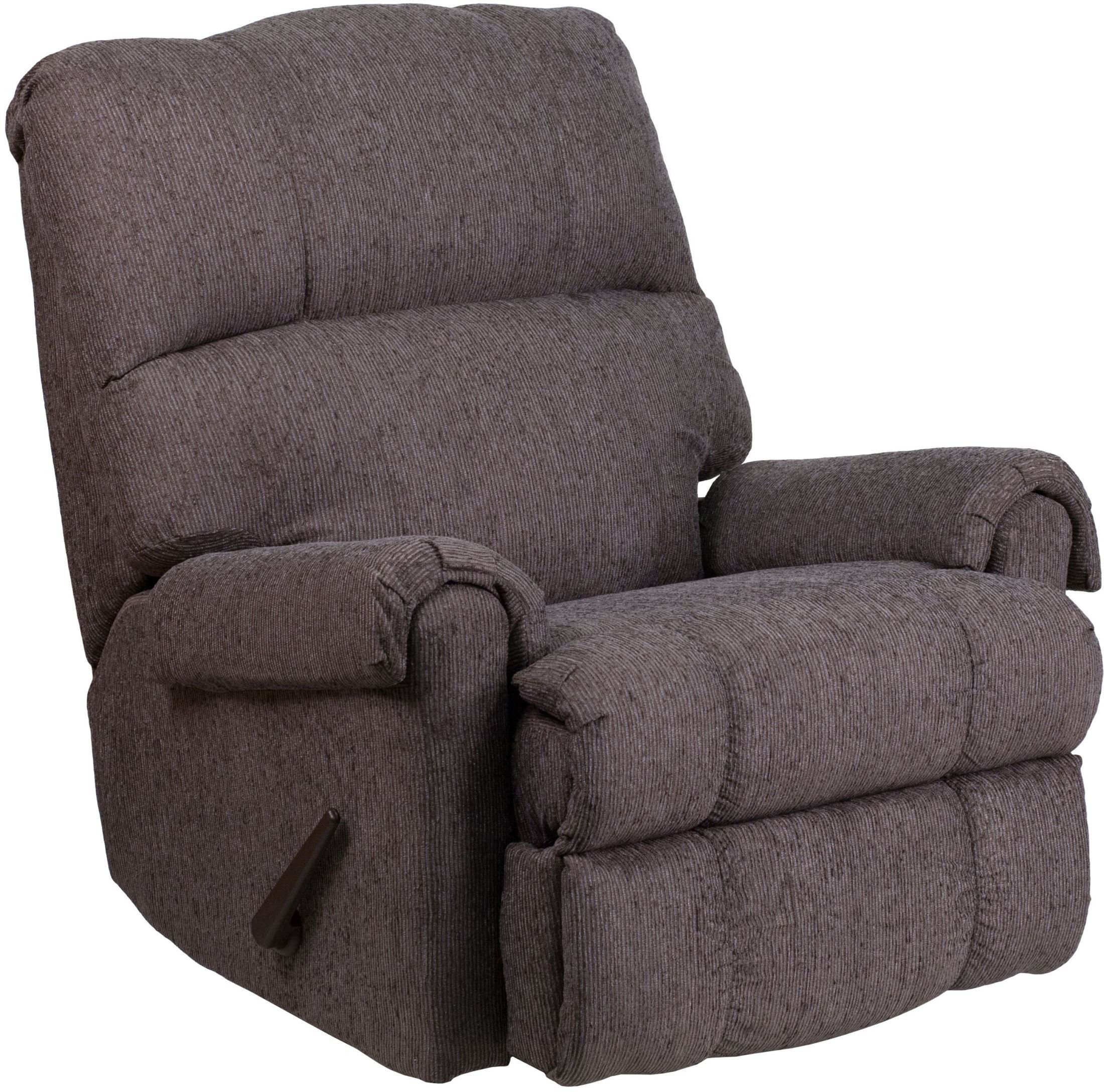 grey rocker recliner ranika gray rocker recliner. Black Bedroom Furniture Sets. Home Design Ideas