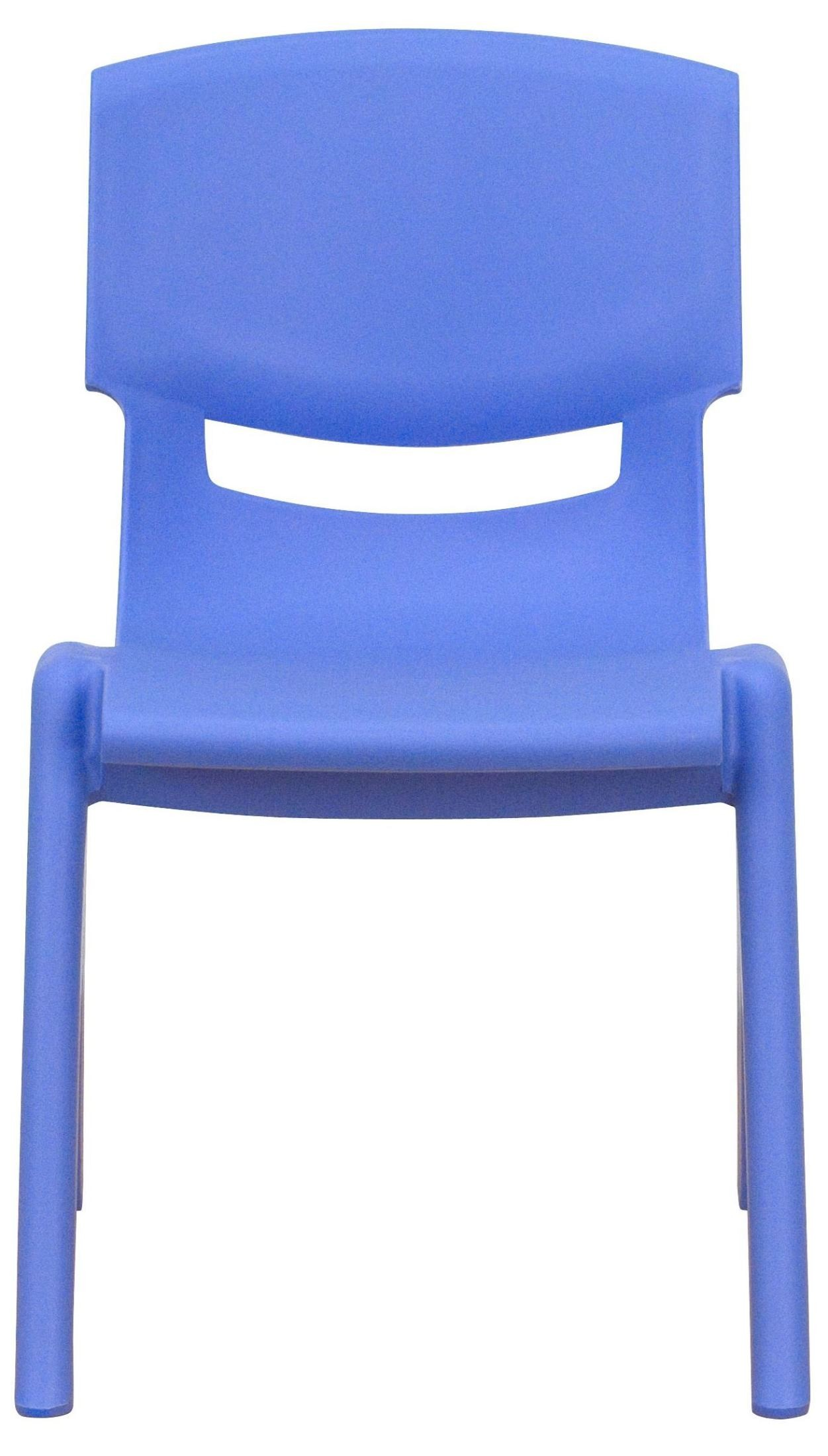 22 h blue plastic stackable school chair from renegade yu