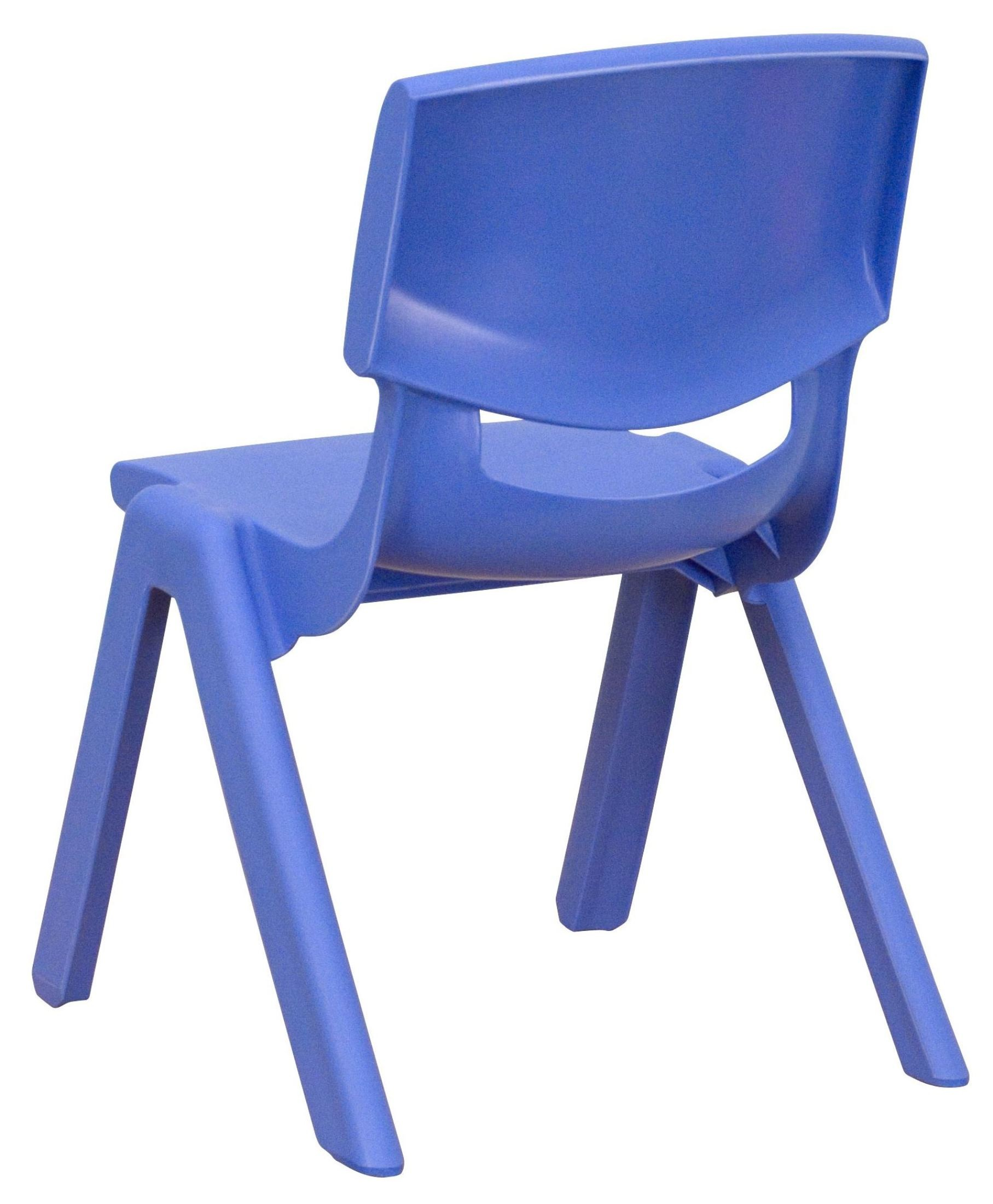 20 h blue plastic stackable school chair from renegade yu