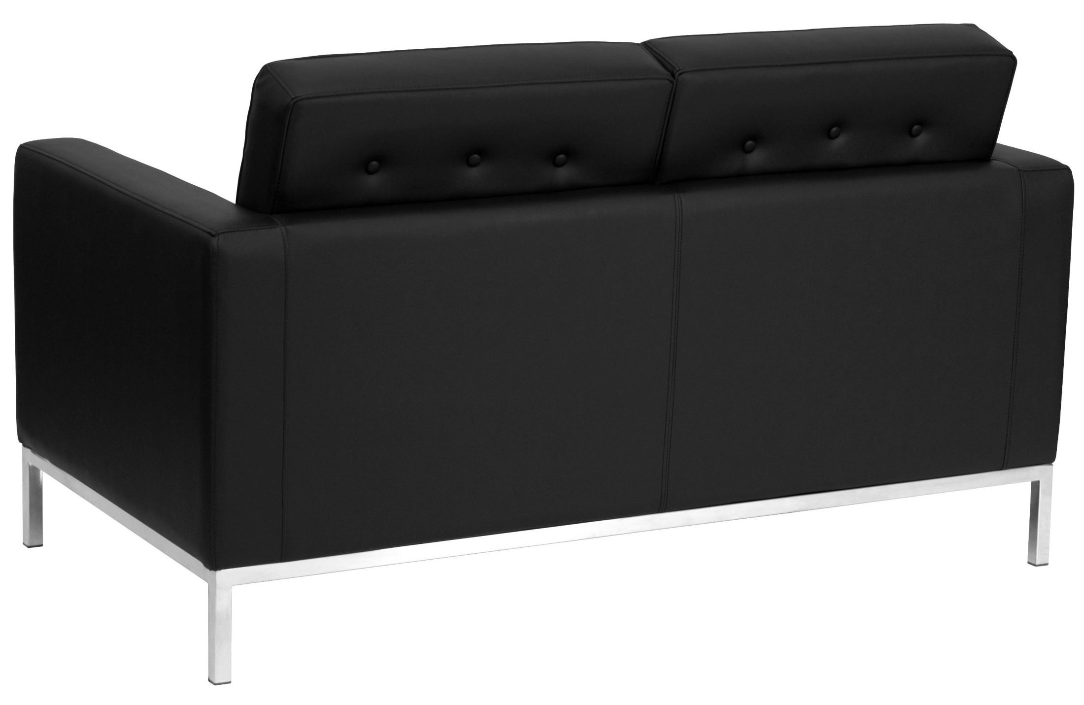 Hercules Lacey Series Black Leather Loveseat From Renegade Coleman Furniture