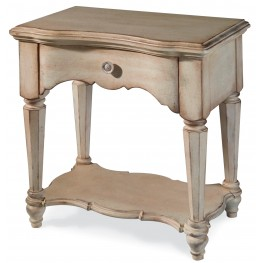 Belmar New Antique Linen Open Nightstand