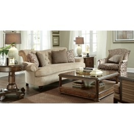 Cotswold Amanda Ivory Living Room Set