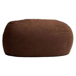 Big Joe XL Fuf Espresso Suede Comfort Bean Bag