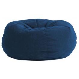 Big Joe King Fuf Blue Sky Comfort Suede Bean Bag