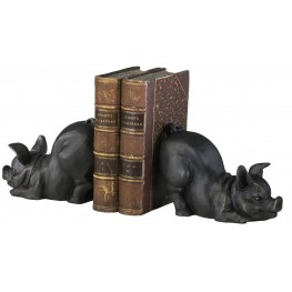 Piggy Bookends Set of 2