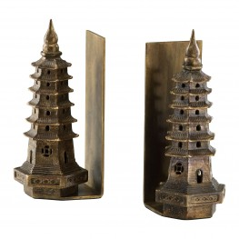 Pagoda Bookends 2 Piece