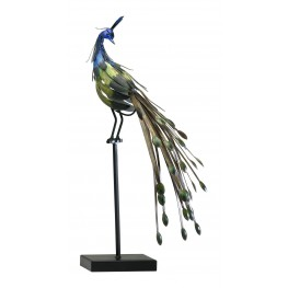 2826 Peacock On Stand