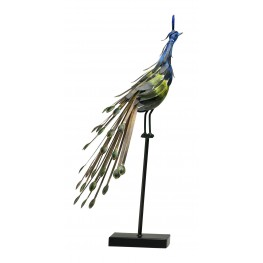 2832 Peacock On Stand