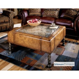 Heritage 286070 Clock Cocktail Table