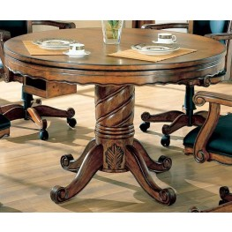 Gaming Collection Three In One Poker Bumper Pool Dining Table- 100871
