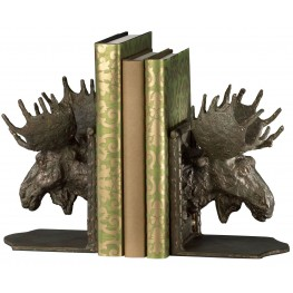 Moosehead Bookends Set of 2
