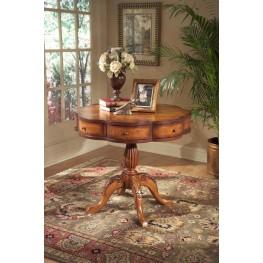 Masterpiece Chatham Olive Ash Burl Clover Pedestal Table