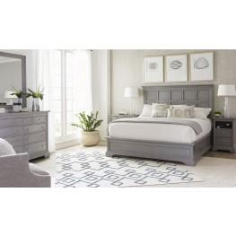 Transitional Estonian Grey Panel Bedroom Set