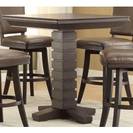"Toscana 44"" Distressed Birch Pub Table"