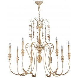 Maison 8 Light Chandelier